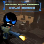 Stickman Armed Assassin Cold Space